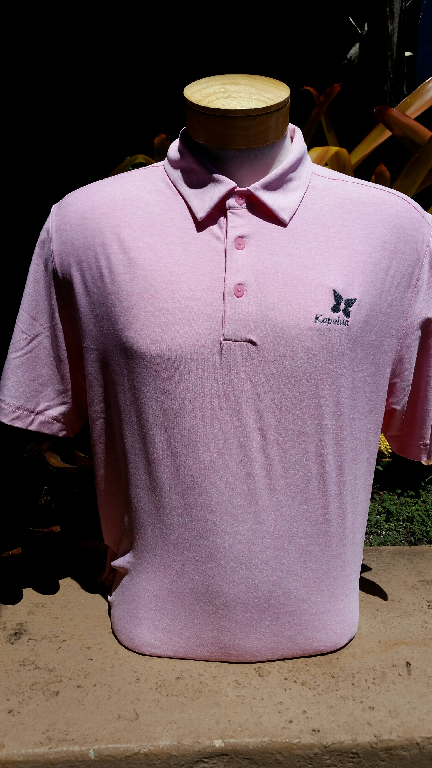 UA Mens Polo Shirt - Solid Pink