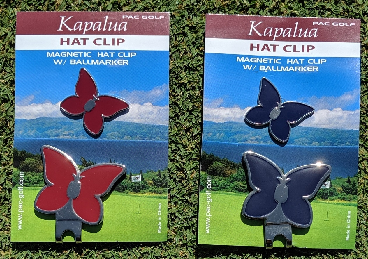 Pacific Golf Hat Clip
