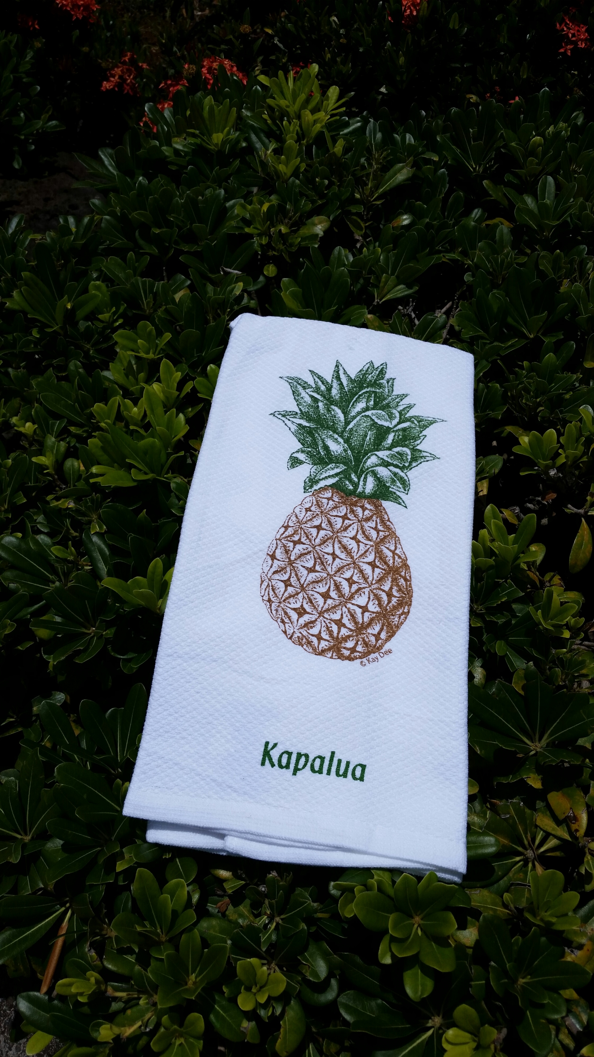 Pineapple Kitchen Towel