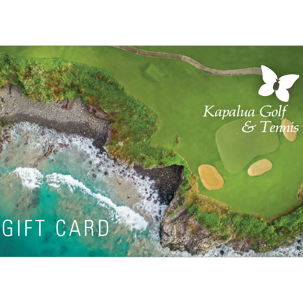 Kapalua Golf/Academy/Tennis Gift Card