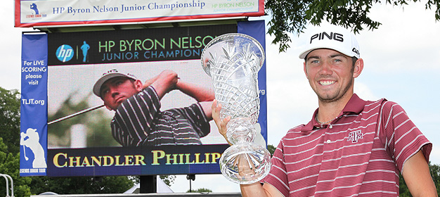 Huntsville's Phillips Wins the HP Byron Nelson Junior