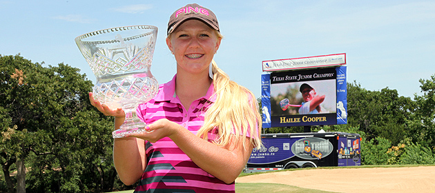 Arguelles Leads the 88th Girls Texas State Junior Championship