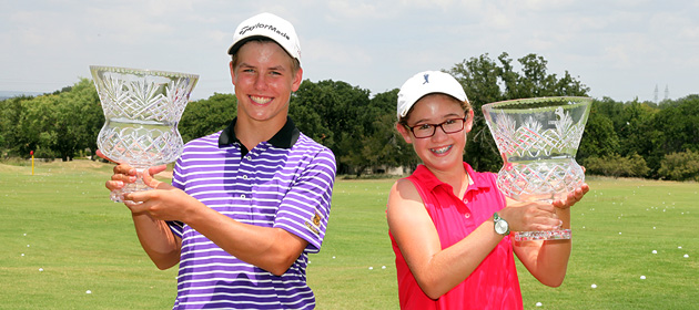 Critch and Barry lead the Boys and Girls 14 & Under State Junior