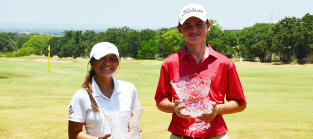 Rogenes and Routzong win Boys and Girls 14 & Under Divisions