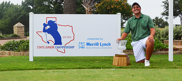 Greenberg Runs Away With 89th Texas State Junior Championship