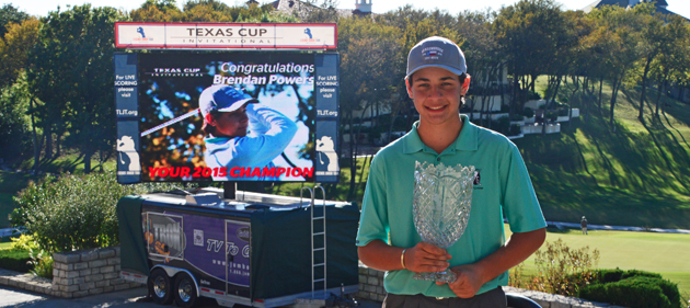 Powers Overcomes Deficit in 2015 Texas Cup Invitational Victory