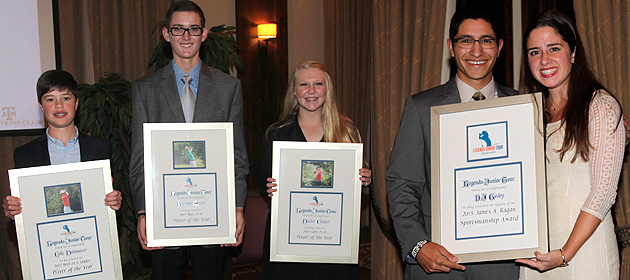 Smith, Cooper & Hammer Named 2013 Players of the Year; Godoy Earns James A. Ragan Sportsmanship Award