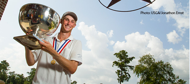 LJT Alum Will Zalatoris wins U.S. Junior Amateur Championship
