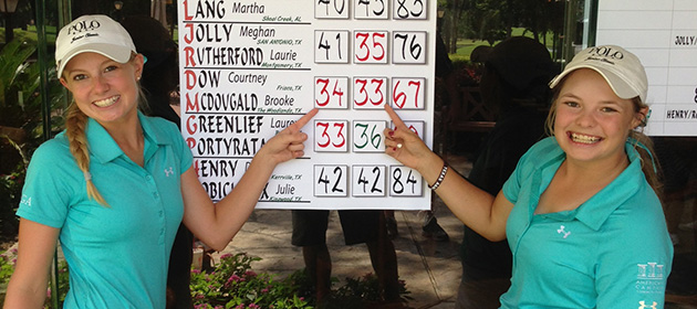 Texans First to Qualify for Inaugural U.S. Women�s Amateur Four-Ball