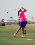 Saenz has two two top-ten finishes on the Legends Junior Tour this year.