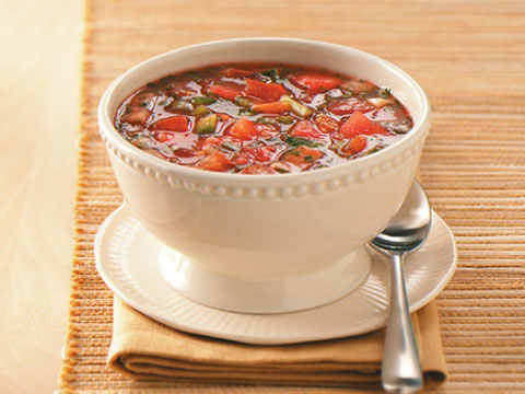Summer Seafood Gazpacho Recipe from The Grille at Maderas