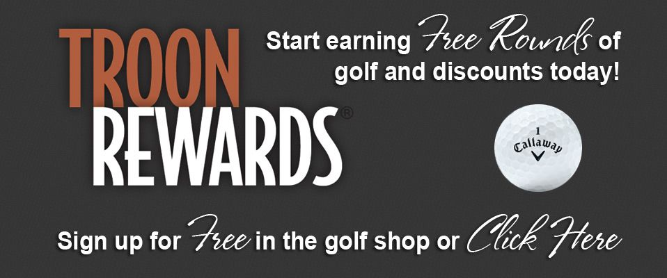 Troon Rewards - Golf's Premier Loyalty Program