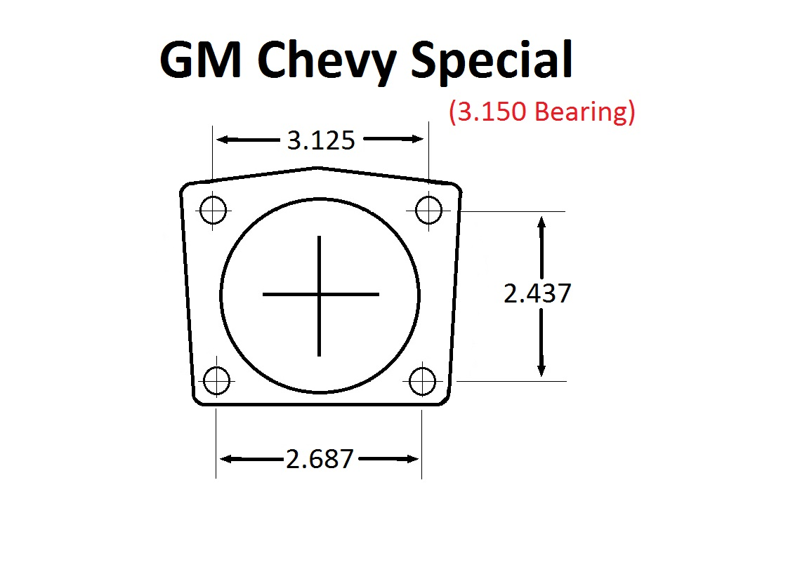 Small GM (2.75 Offset)