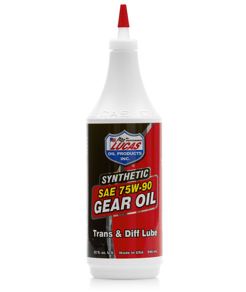 LUC-10047 LUCAS SAE 75W-90 SYNTHETIC GEAR OIL