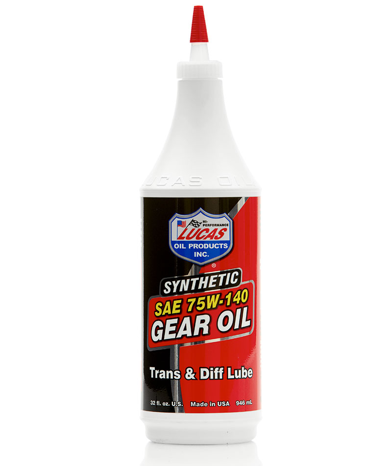 LUC-10121 LUCAS SAE 75W-140 SYNTHETIC GEAR OIL