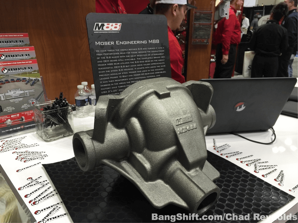 Ford Fans Rejoice: Introducing The Moser M88! Moser Is Making New 8.8 Ford Axle Housings!