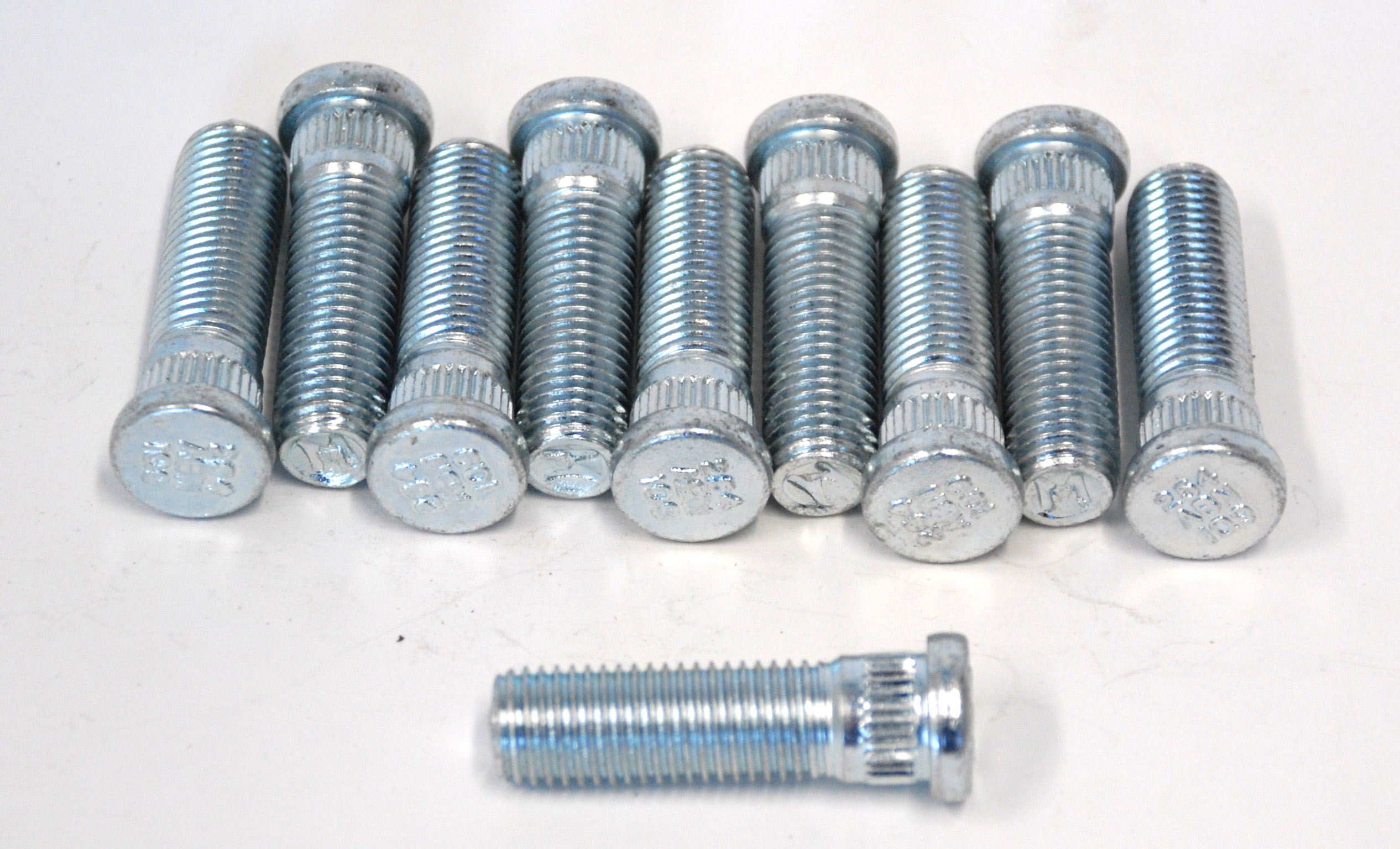 "Part # 8254 - 12mm x 1 1/2"" .505"" knurl Chevy 12mm"