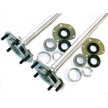 Part # CJS - Moser one-piece Jeep Axle Kit Fits: 1976-83 CJ5 & 1976-81 CJ7