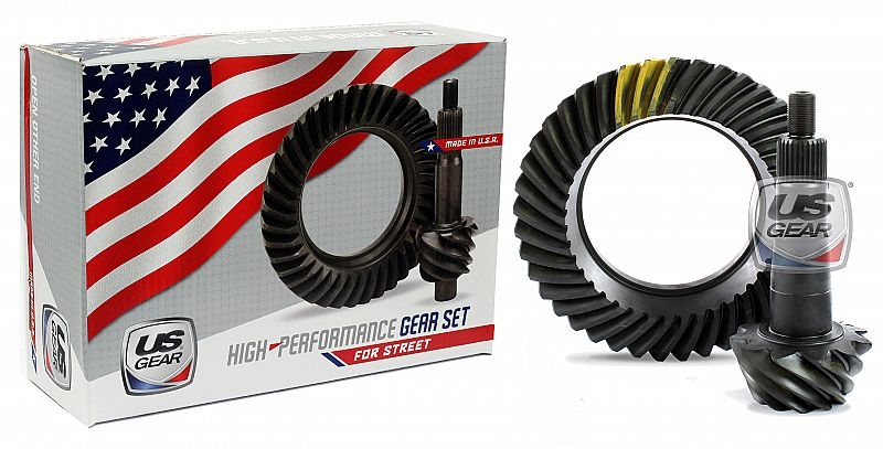 "Part # 88F355 - 8.8"" Ford 3.55 Pro/Street Ring & Pinion -- US Gear"