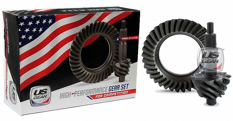 """Part # 09F389P - 9"""" Ford 3.89 Pro Ring & Pinion (Large Pinion) -- US Gear"""