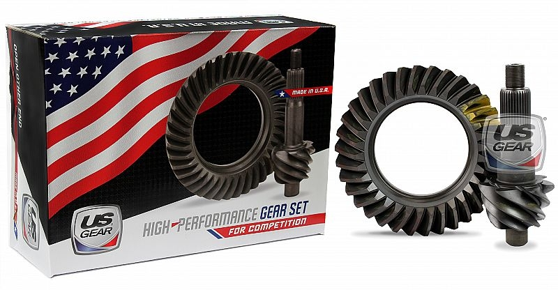 """Part # 09F486P - 9"""" Ford 4.86 Pro Ring & Pinion (Large Pinion) -- US Gear"""
