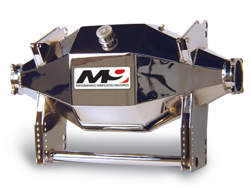 Moser M9 Bare Drag Housing (shown with brackets and chromed)