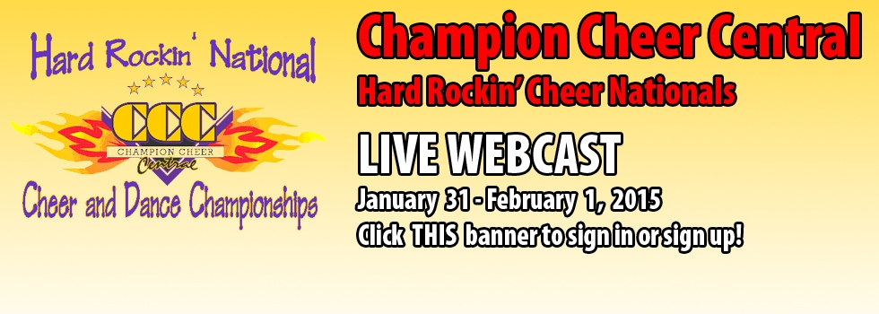 2014 Champion Cheer Central LIVE WEBCAST