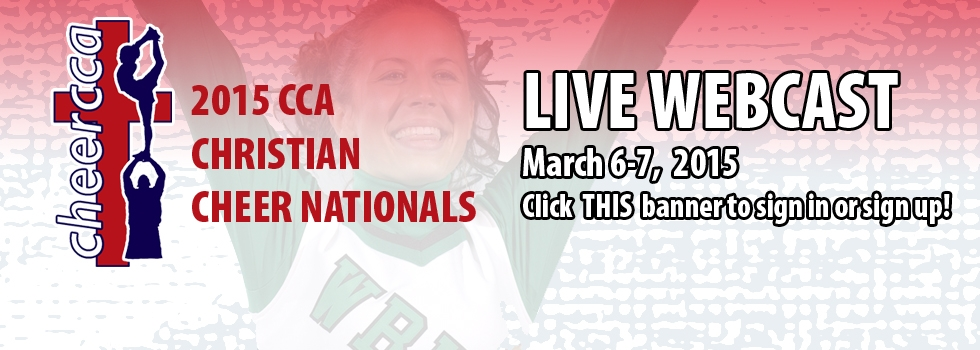 2015 Christian Cheer Nationals LIVE WEBCAST