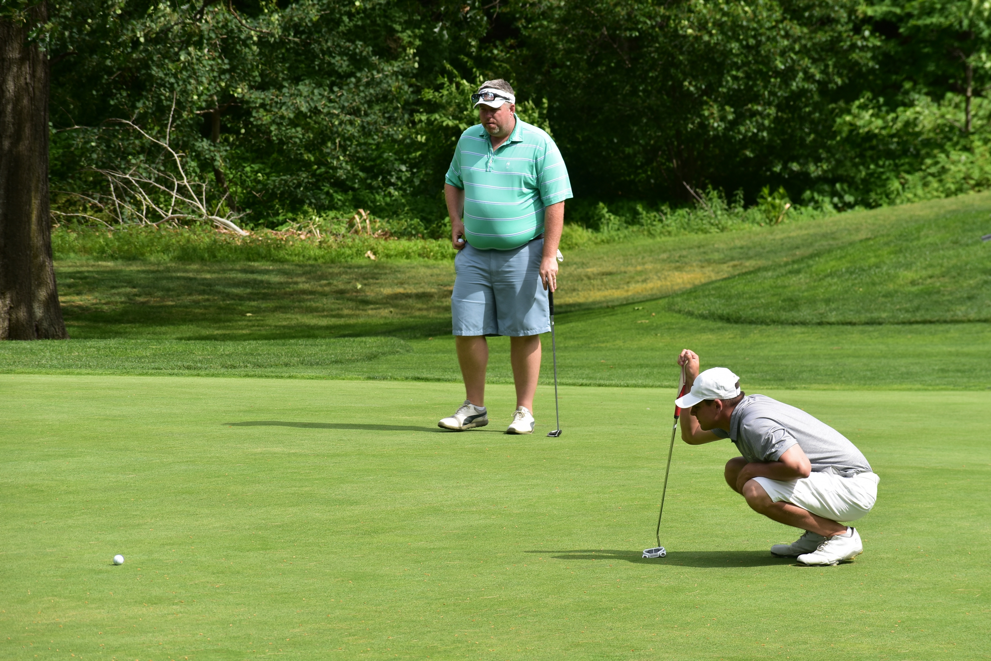 Cilley/Mahan Sides Fires Low Round to Lead Gross Four Ball