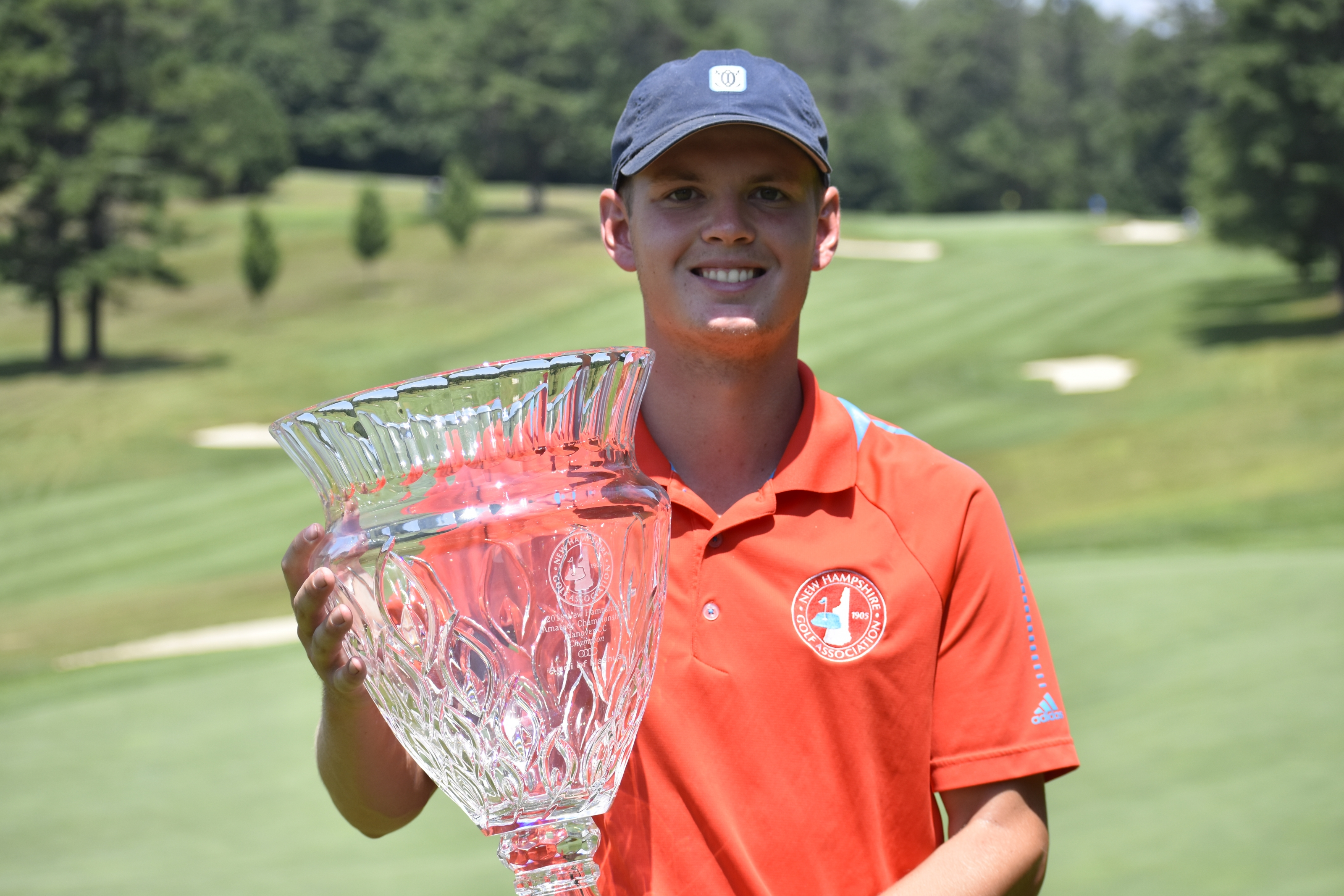 Third Time's the Charm:  Paradis Crowned New Hampshire Amateur Champion