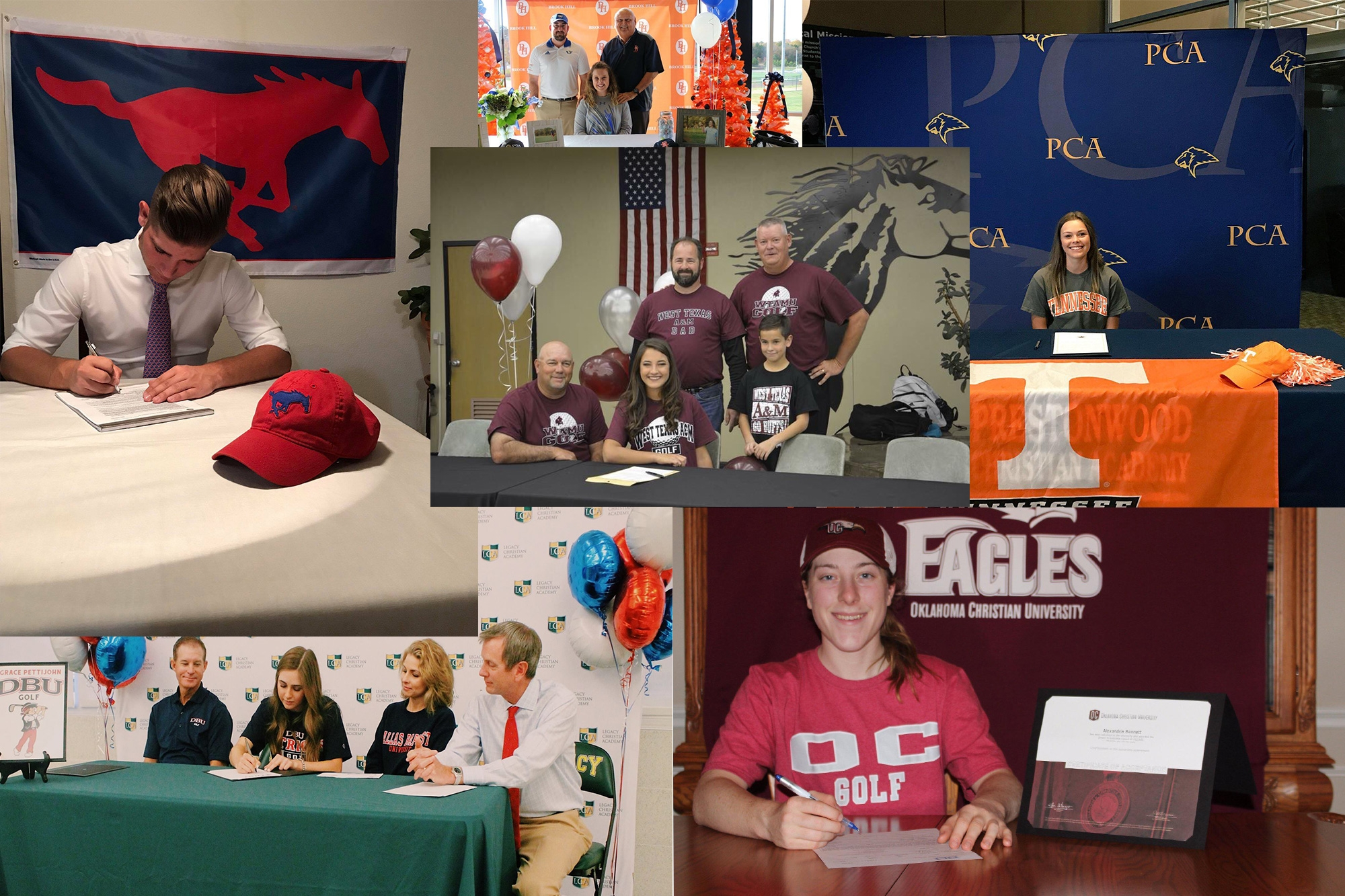 Congratulations class of 2018 on their college commitments!