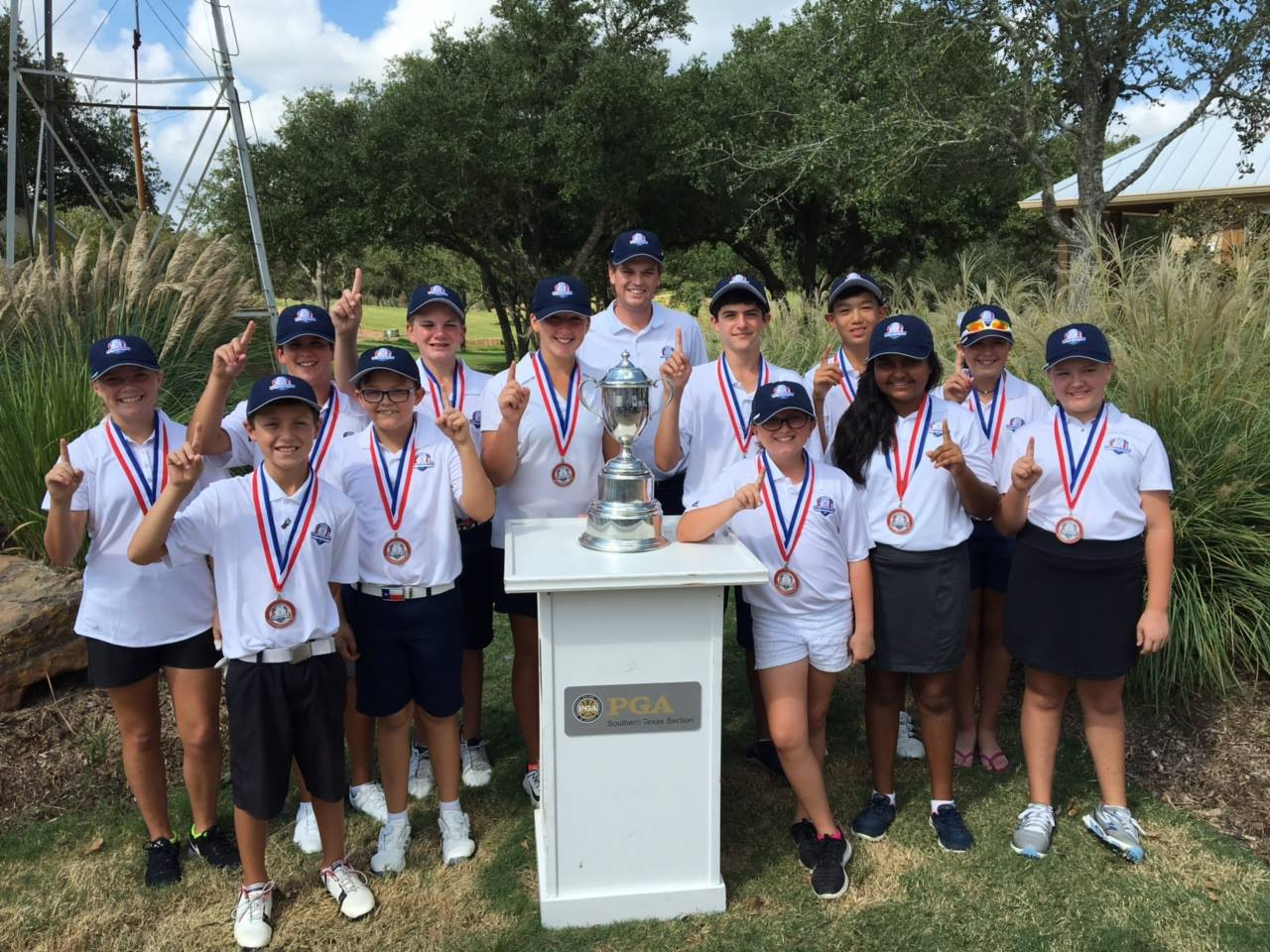 NTPGA Team Captures Fourth Straight Texas Junior Cup Matches