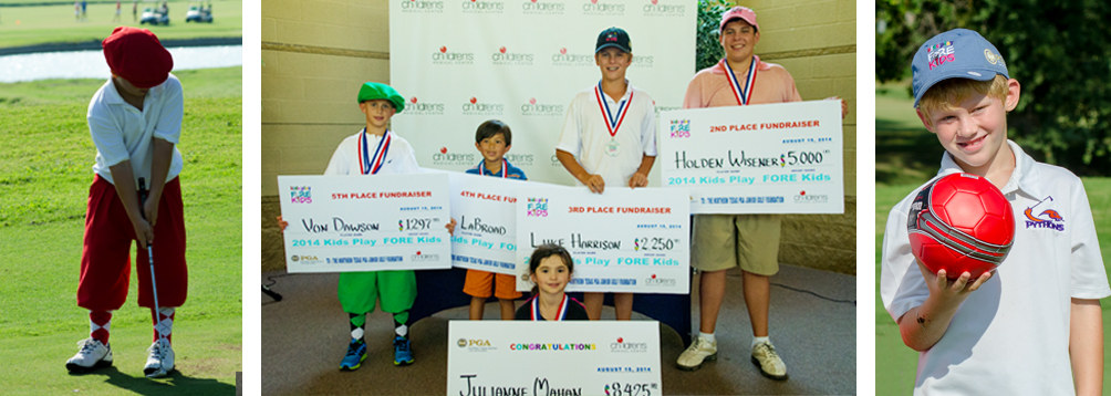 4th Annual Kids Play FORE Kids