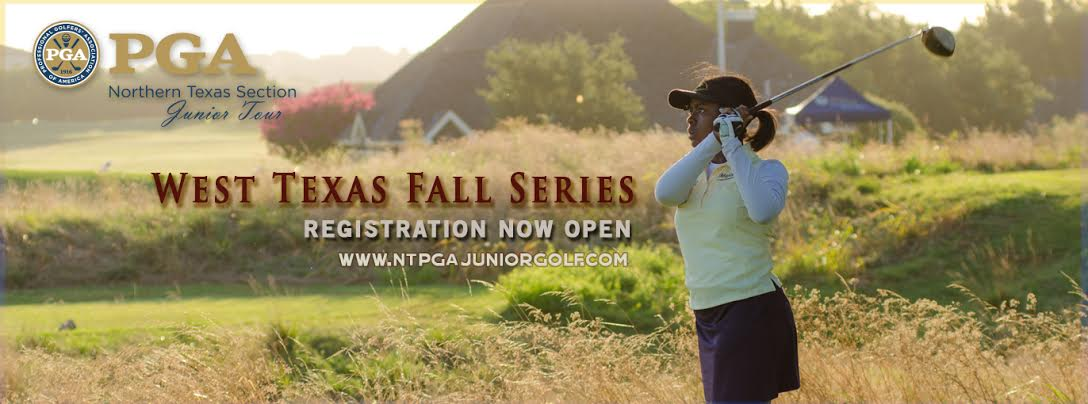 West Texas Area Fall Series Schedule