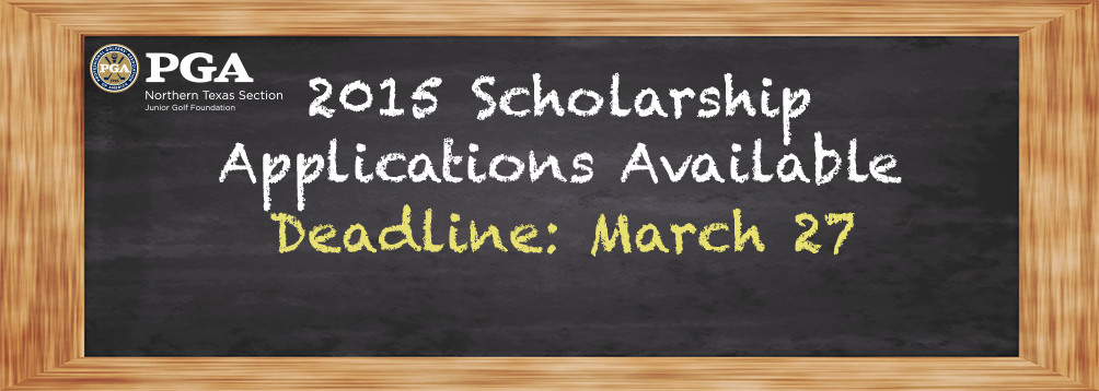 Scholarship Applications Available