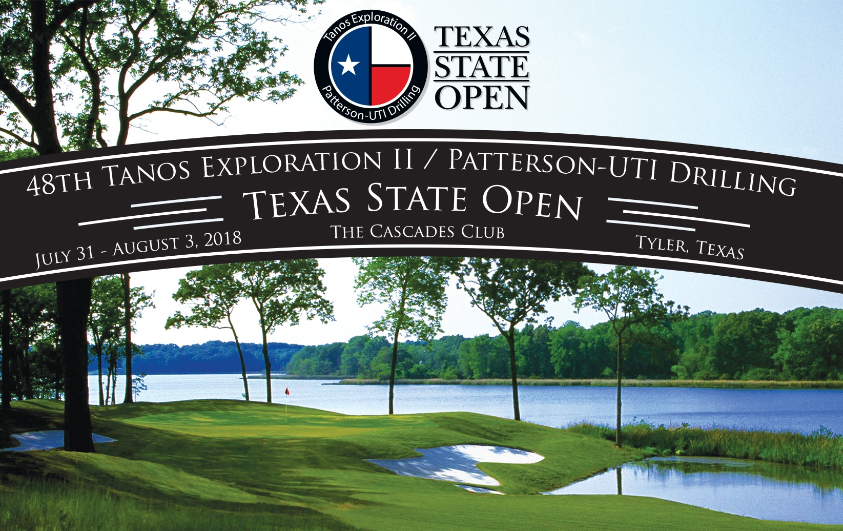 Tanos Exploration / Patterson-UTI Drilling Texas State Open Second Chance Qualifying Entry Available