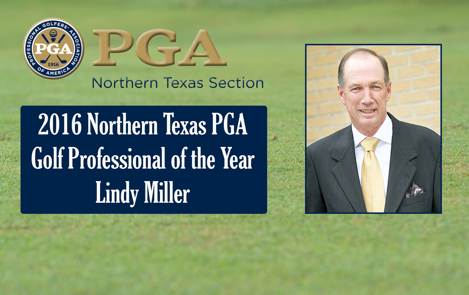 2016 Northern Texas PGA Section Award Winners Announced