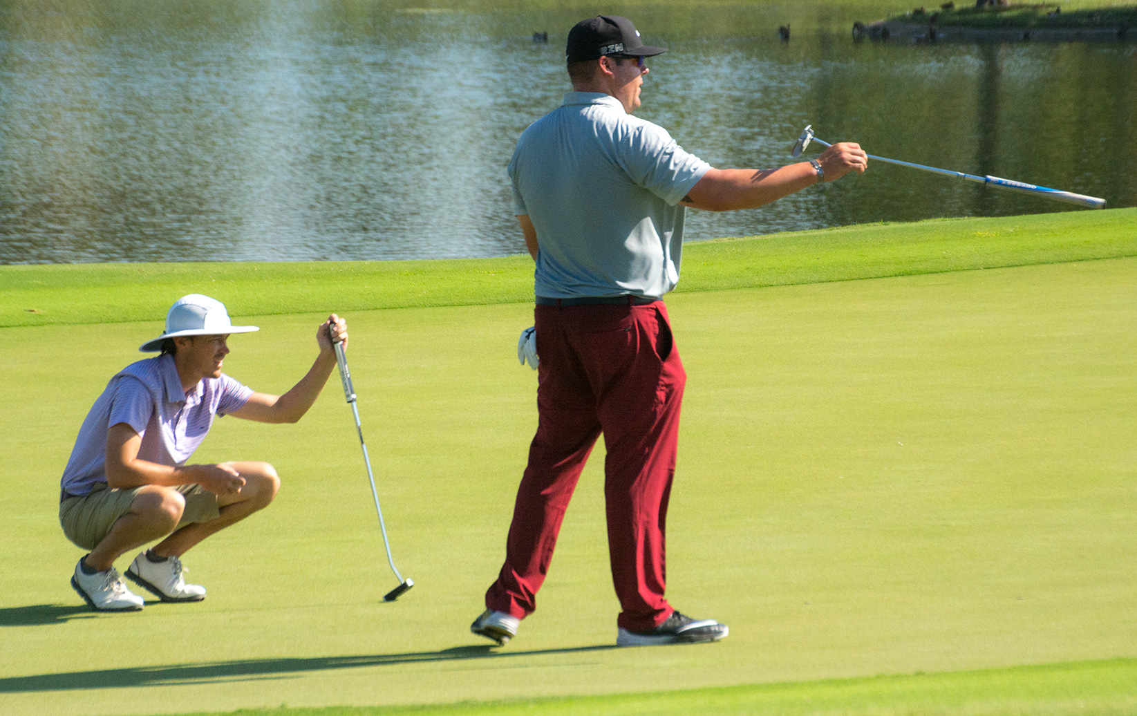 Two Teams Share Lead After Round One of the National Car Rental Pro-Scratch Championship