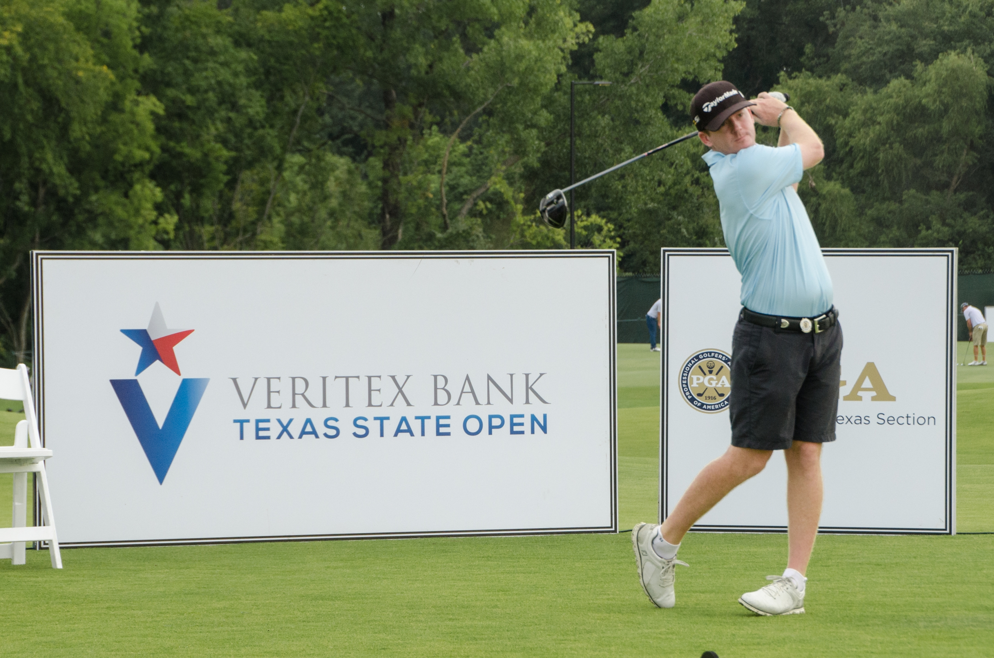 Jones Leads After Round One of the 47th Veritex Bank Texas State Open