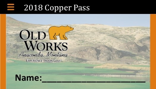 Copper Passes (Unlimited golf & practice)