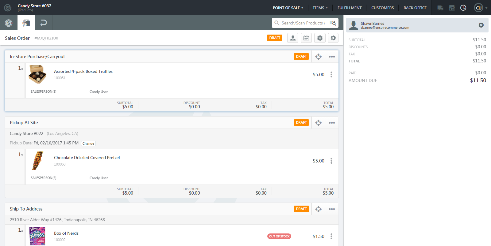 RetailPoint Feature Spotlight: Itemized Orders and Receipts