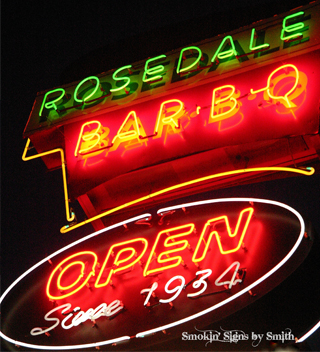 Rosedale BAR•B•Q: The Rosedale Story