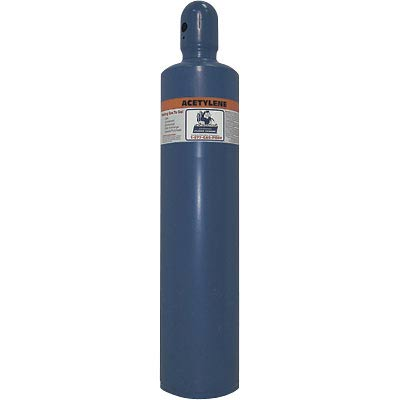 147 or 279 CC Acetylene Welding Gas Cylinder Tank