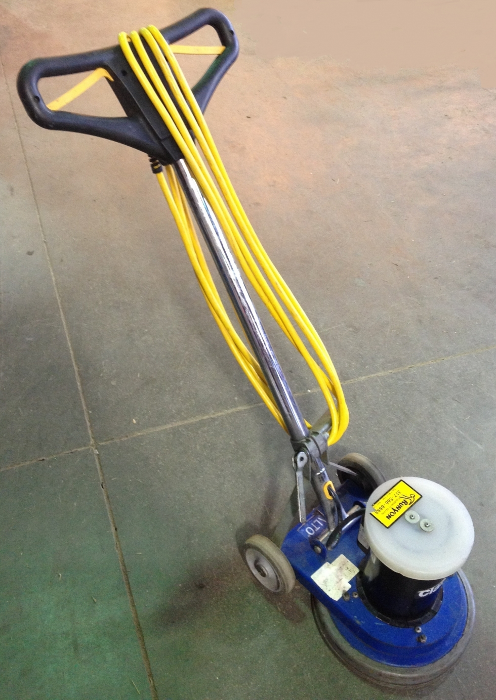 or floor tool polisher scrubber for grinder wellers hire