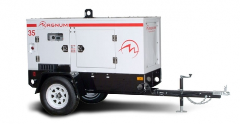 Magnum MMG35 35kW Mobile Generator