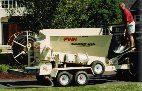 Finn BB302 Mulch Bark Blower Landscaping Equipment Rental