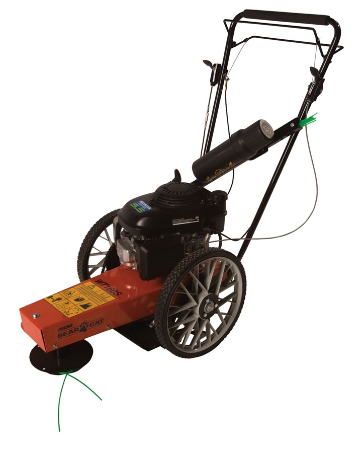 Echo Bear Cat Wt160s Self Propelled Wheeled Weed Trimmer Rental
