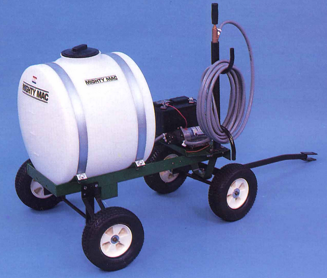 22 GALLON TOWABLE SPRAYER TANK