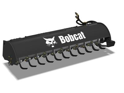 "62"" Bobcat Tractor Garden Soil Tiller Attachment Rental"