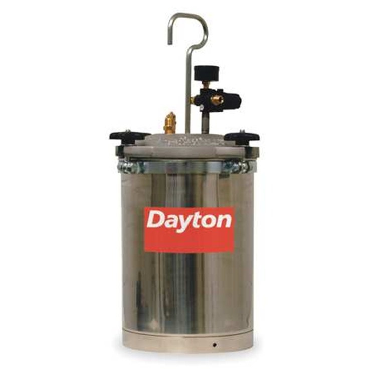 Dayton Speedaire 2 1 2 Gallon Capacity Paint Sprayer Pot
